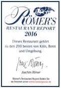 Römers Restaurant Report 2016